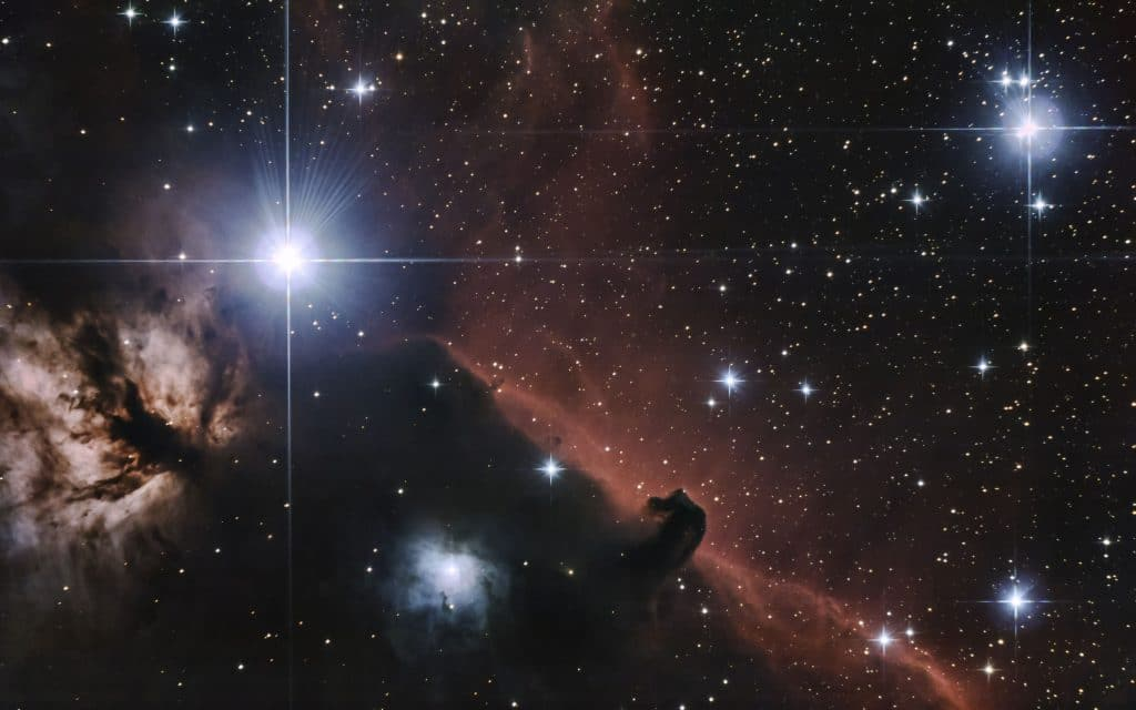 Kerberos Moon Of Plluto: Horse Head Nebula
